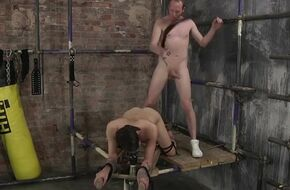 Forced bondage sex